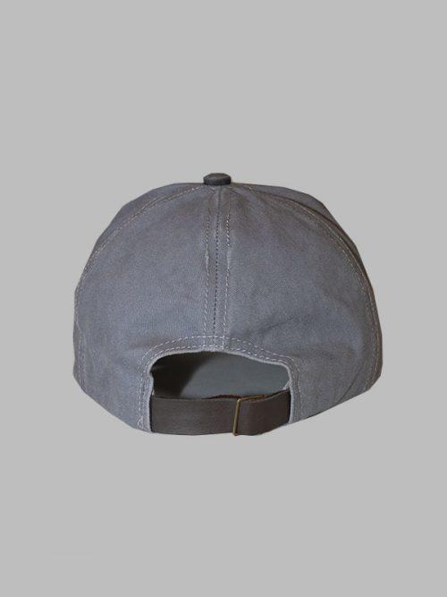 gorra motors gris oscuro hacia atrás para hombres